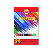 Lápis Integral Progresso 24 Cores KOH-I-NOOR