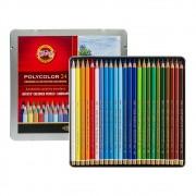 Lápis Polycolor Landscape Colours 24 Cores KOH-I-NOOR
