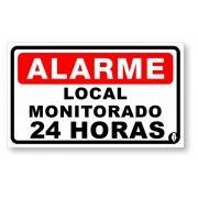 Placa Alarme Monitorado 24 hrs