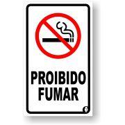 Placa Proibido Fumar