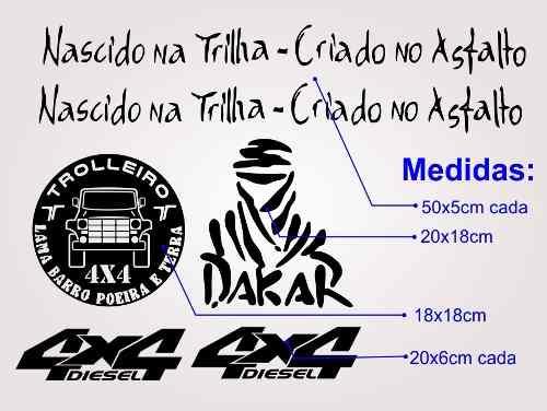 Kit Adesivos Para Troller