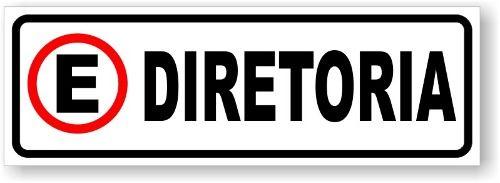Placa Estacionamento Diretoria