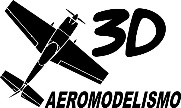 Adesivo Aeromodelismo 3D