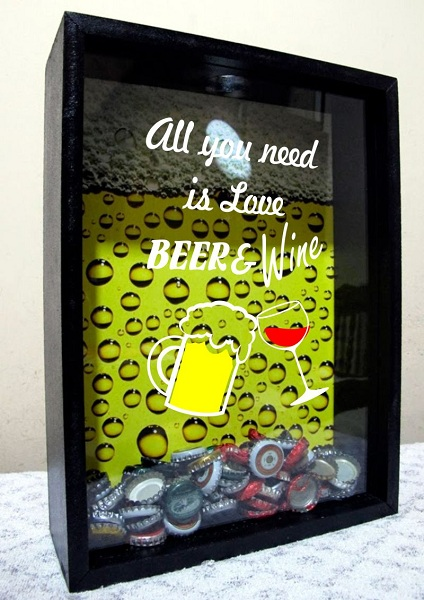 Adesivo Beer Wine para Porta Rolha e Tampinha