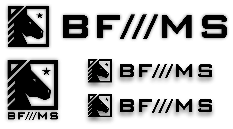 Adesivo BF///MS Kit com 4 unidades - Várias Cores