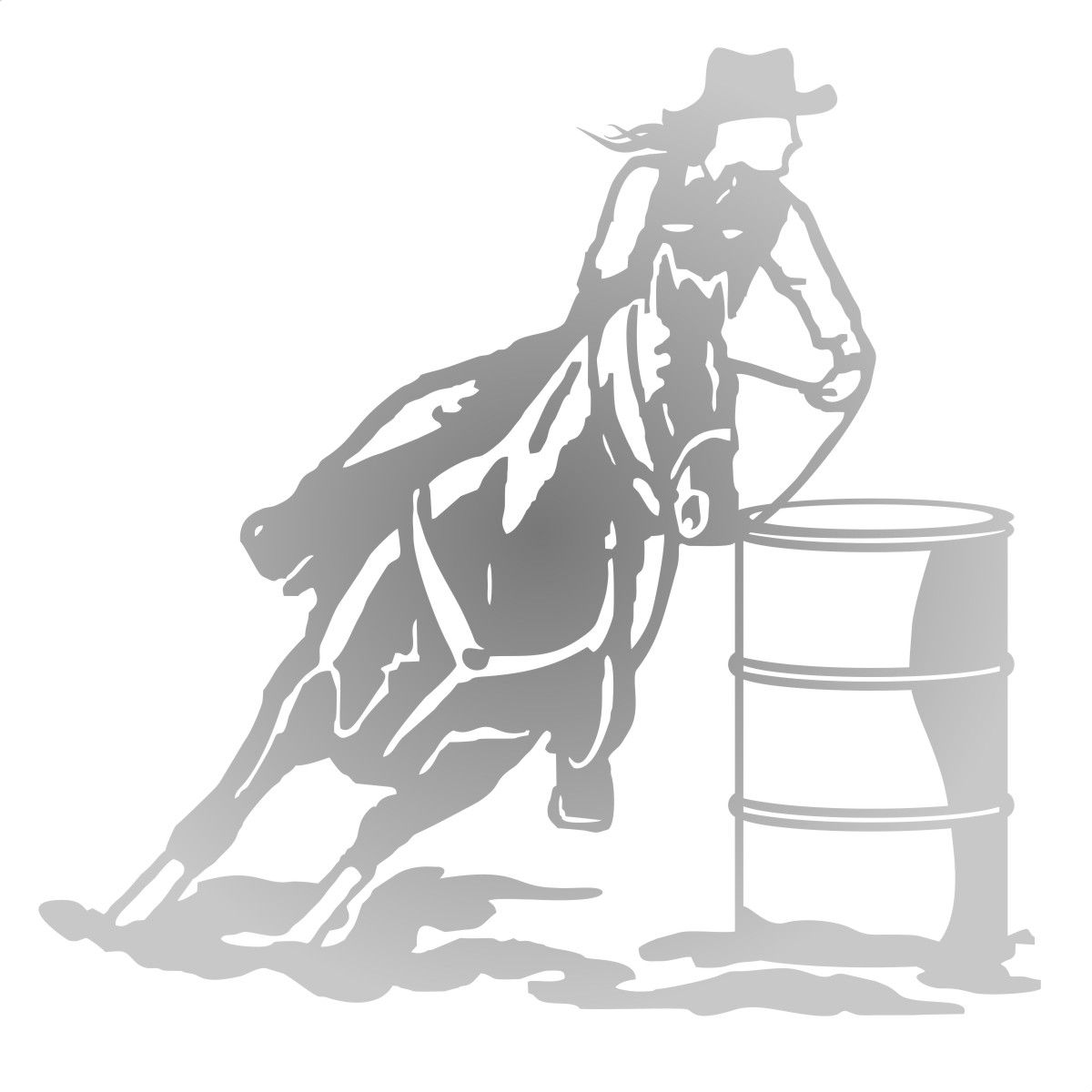 Adesivo Cavaleira - Três Tambores