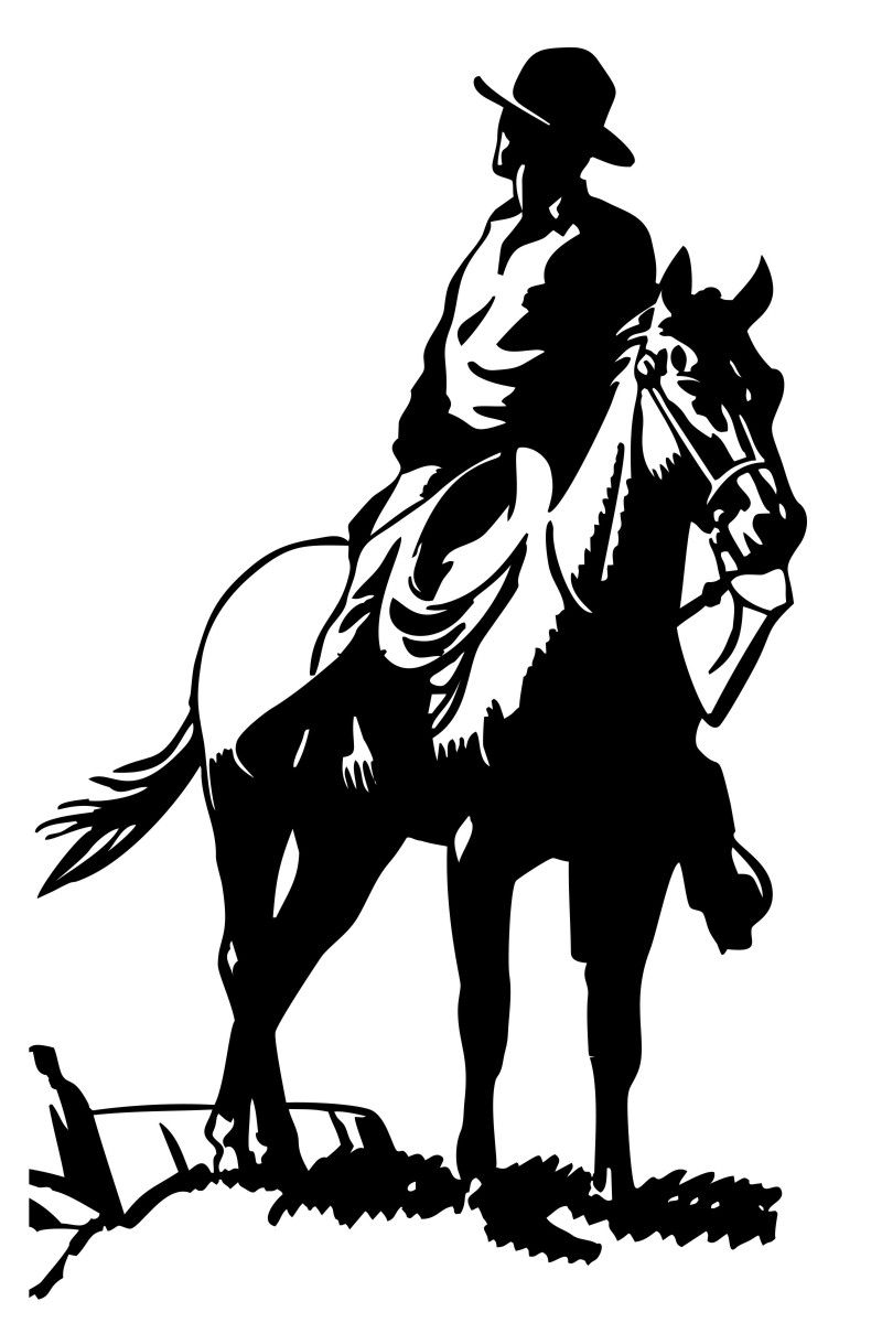 Adesivo Cavaleiro