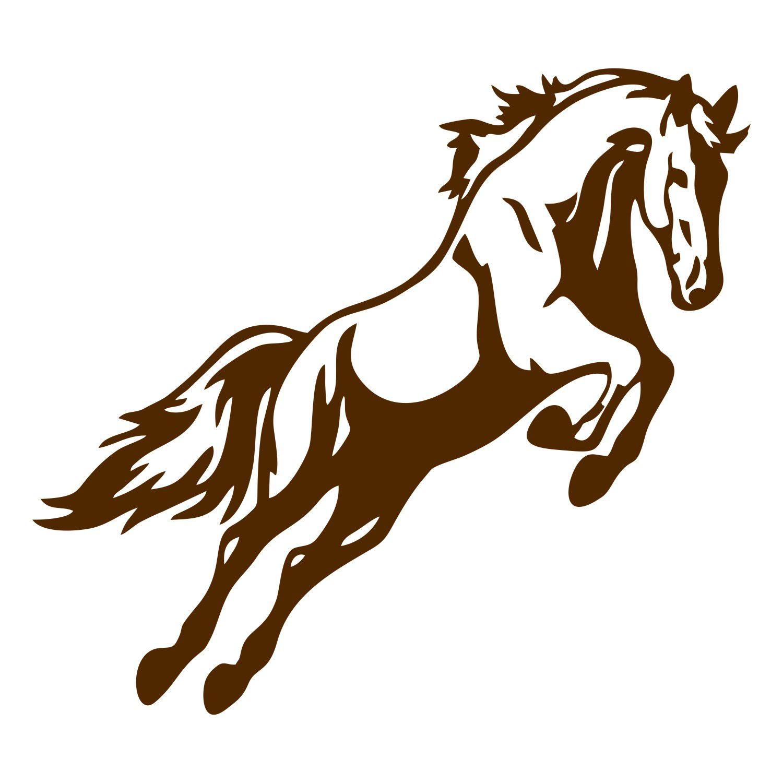 Adesivo Cavalo Perfil - Modelo 2