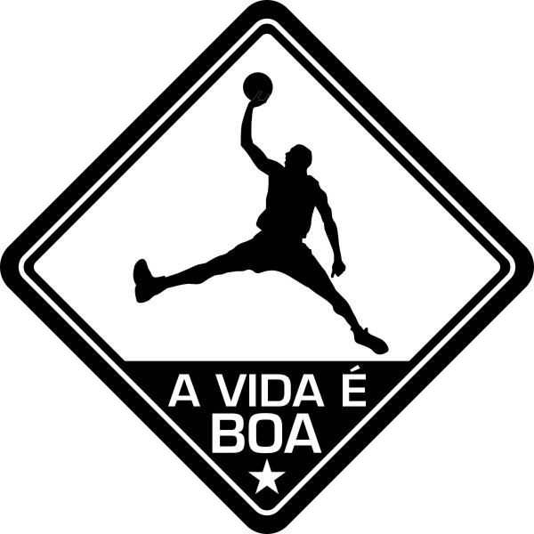 Adesivo Coleção Vinil Studio - A Vida É Boa! Basquete