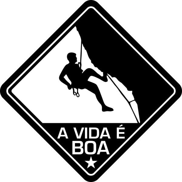 Adesivo Coleção Vinil Studio - A Vida É Boa! Rapel