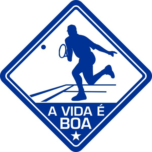 Adesivo Coleção Vinil Studio - A Vida É Boa! Tênis