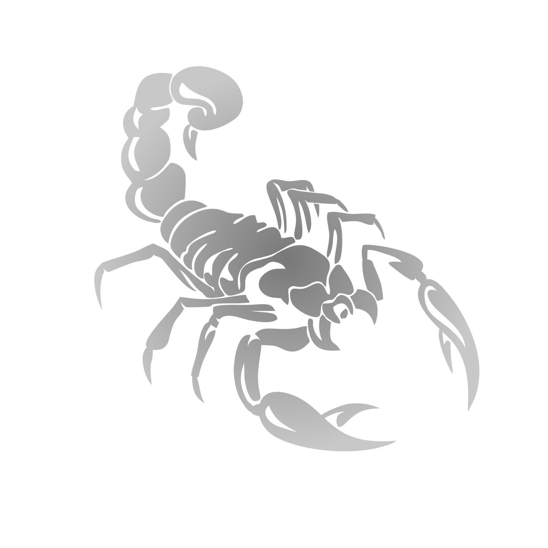 Adesivo Escorpião - Várias cores