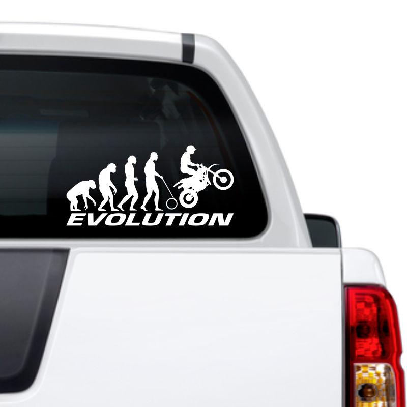 Adesivo Evolução Motocross  Trilha Off Road