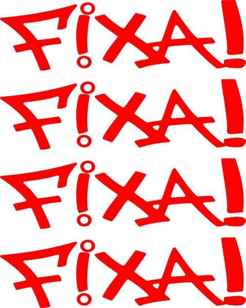 Adesivo FIXA! kit com 4 unidades