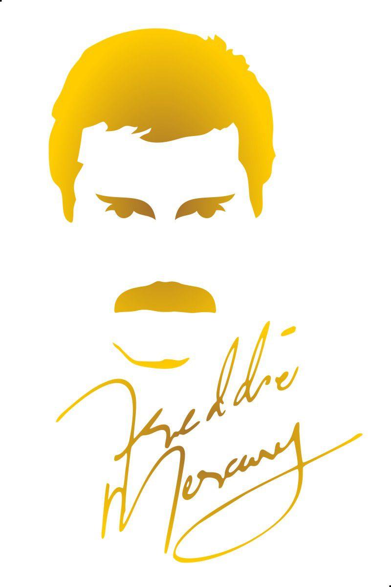 Adesivo Freddie Mercury Modelo 2