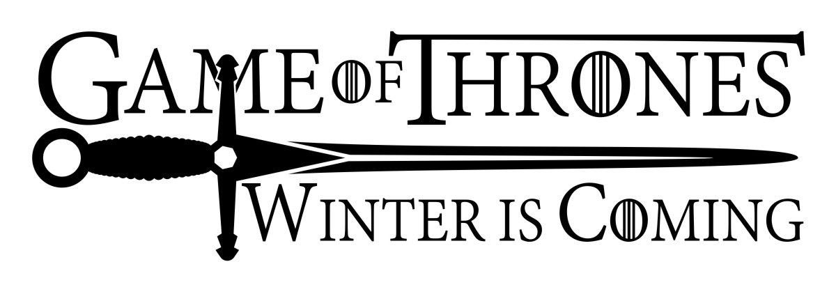 Adesivo Game of Thrones - Winter is Coming