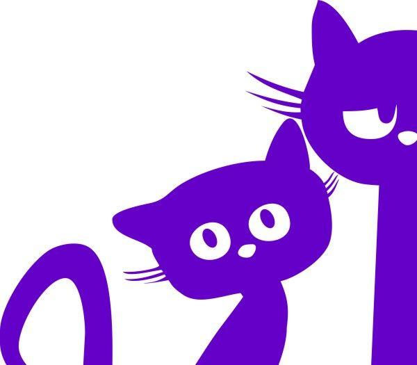Adesivo Gatos Amigos