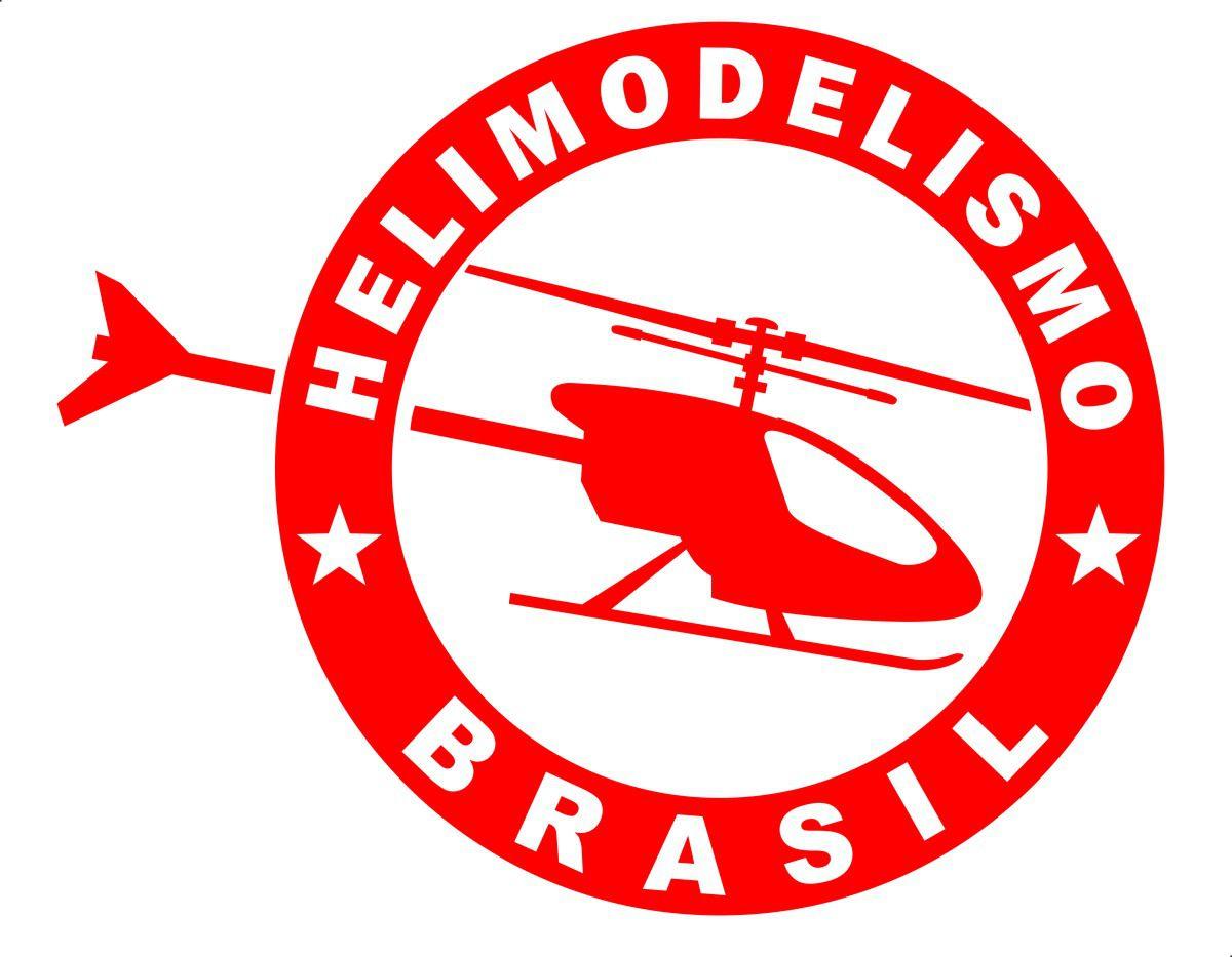 Adesivo Helimodelismo Brasil