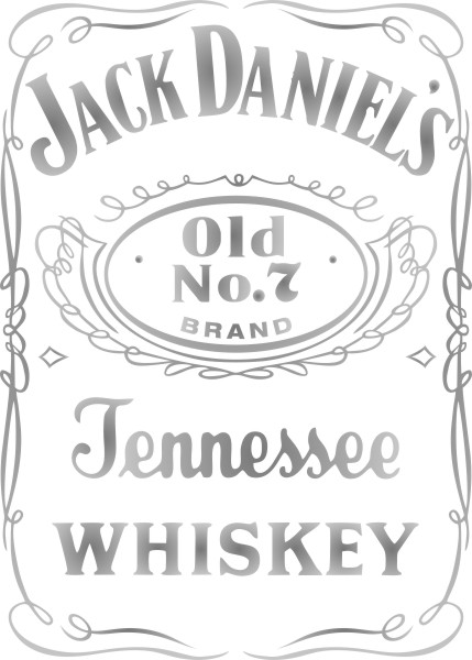 Adesivo Jack Daniels
