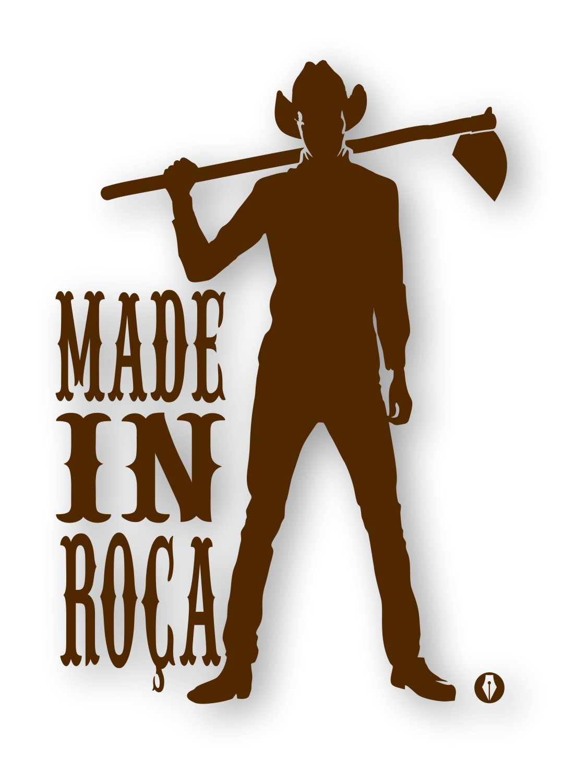 Adesivo Made In Roça Cowboy - Mod1