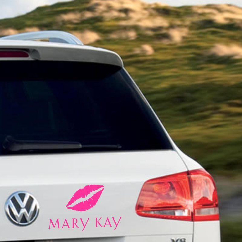 Adesivo Mary Kay - Com Beijo