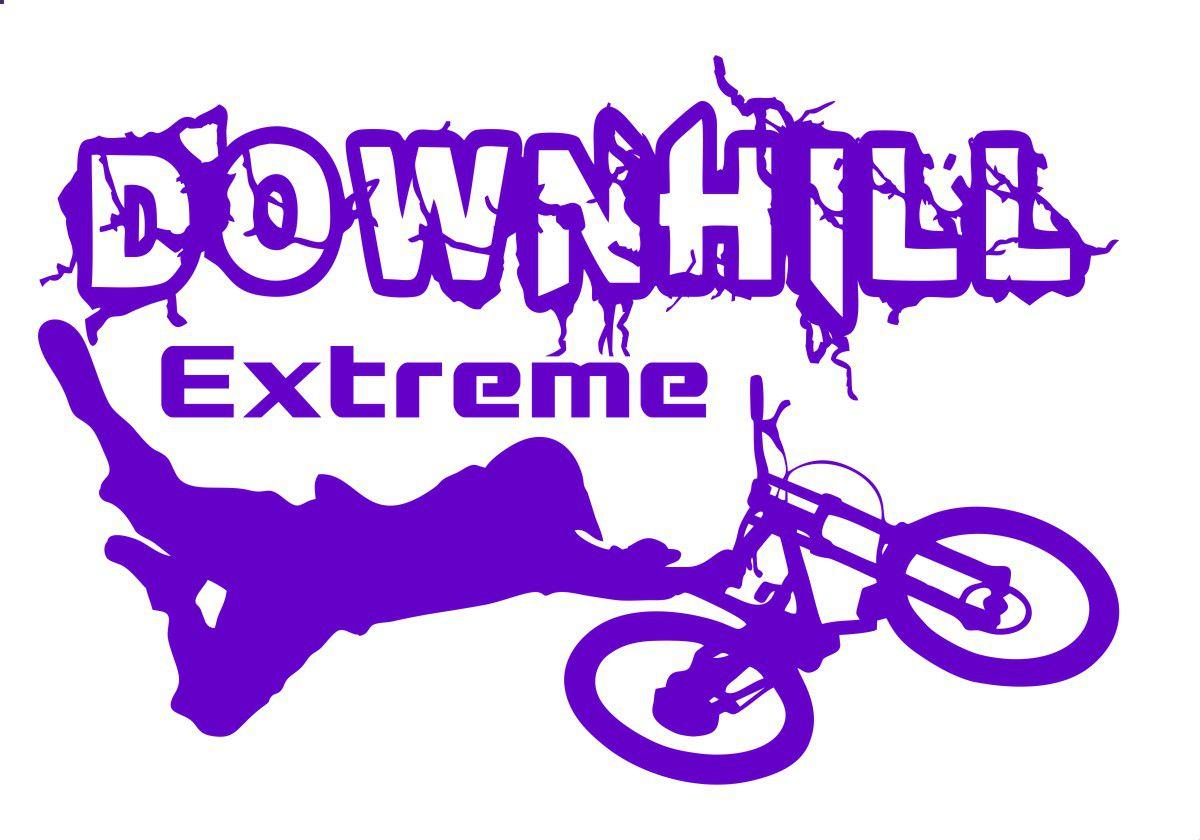 Adesivo Mtb Dh Downhill Extreme