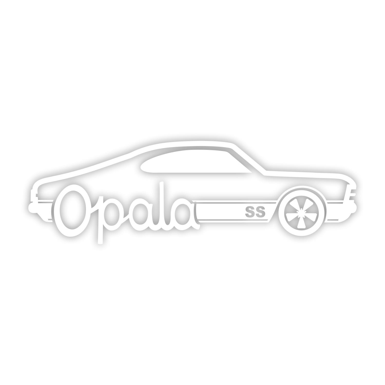 Adesivo Opala - várias cores de alta qualidade