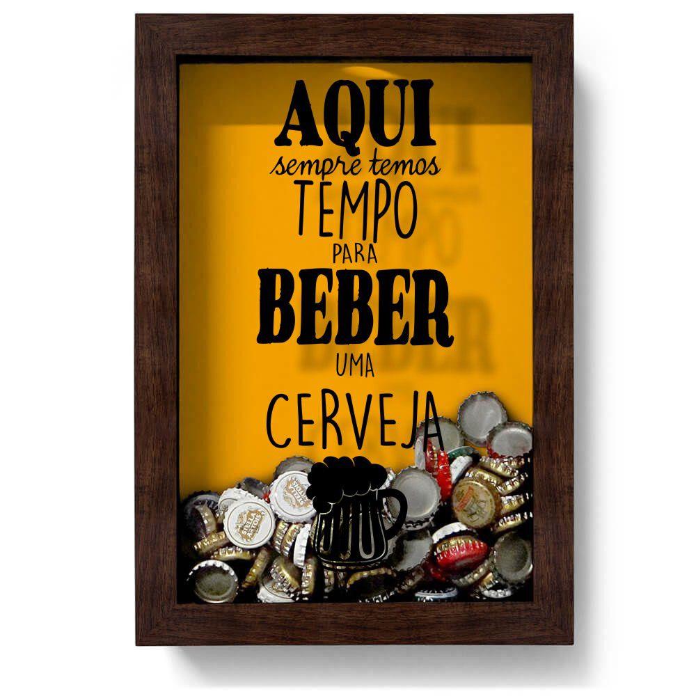 Adesivo para Quadro Porta Tampinha de Cerveja