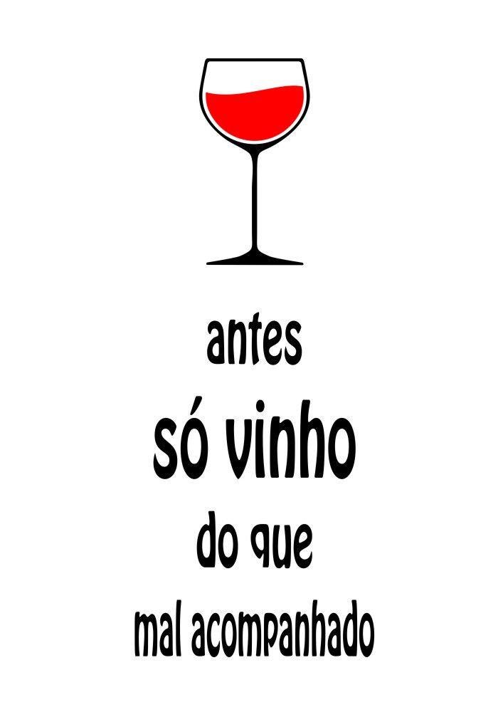 Adesivo Só Vinho...Para Porta Rolha ou Adega