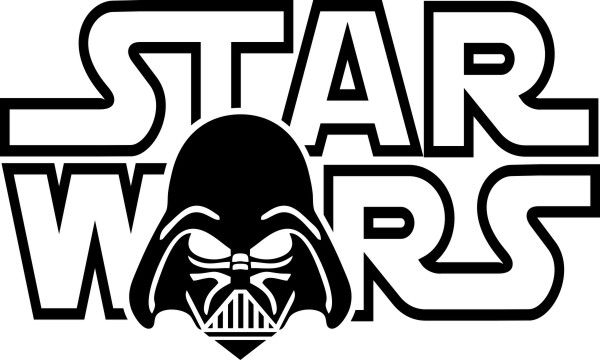 Adesivo Star Wars Logo Mod2 - Várias Cores