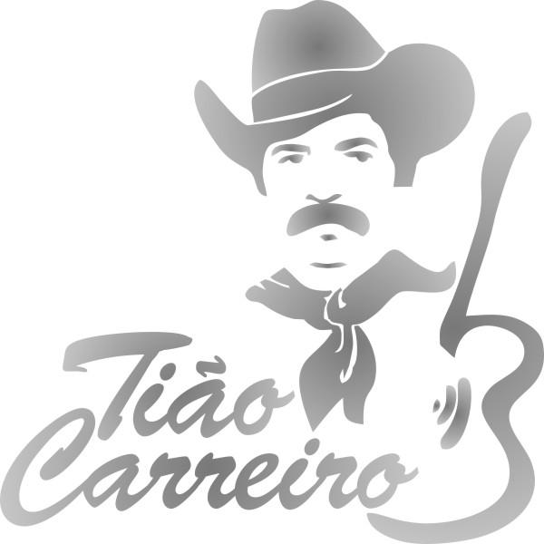 Adesivo Tião Carreiro 23x23cm - Qualidade TOP