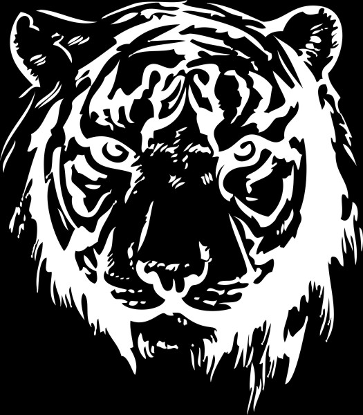 Adesivo Tigre
