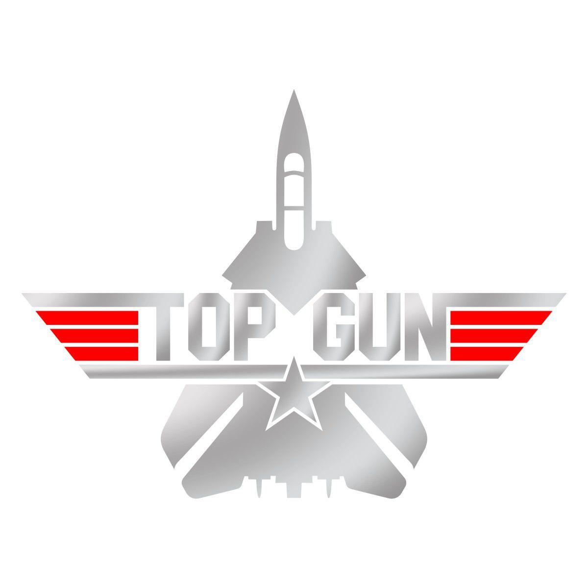 Adesivo TOP GUN - Clássico
