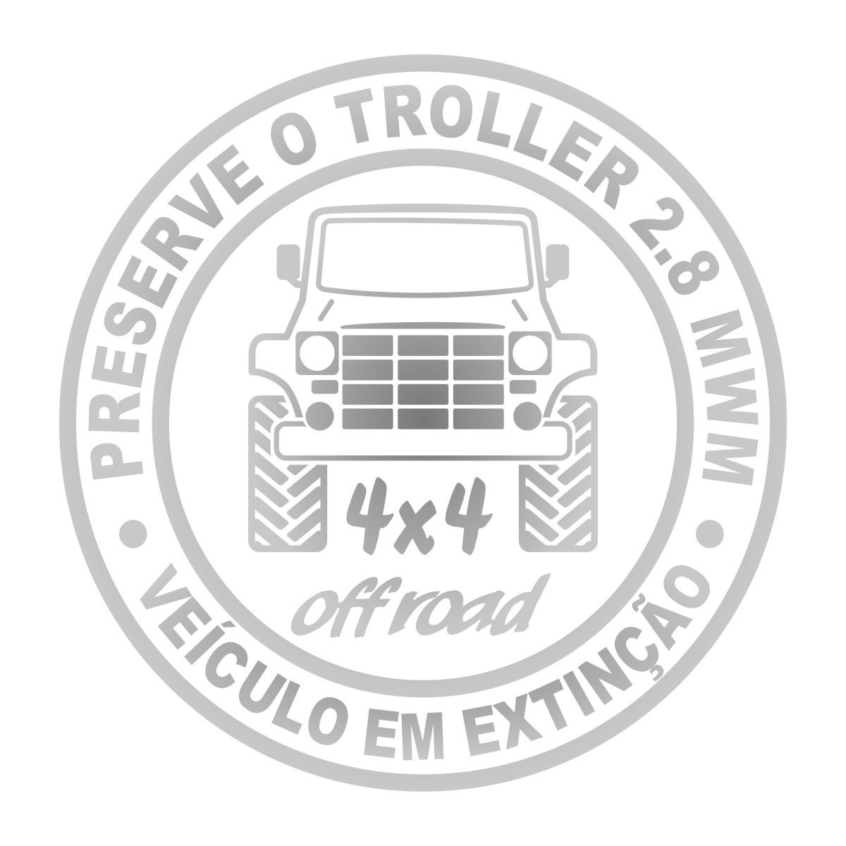 Adesivo Troller 2.8 MWM