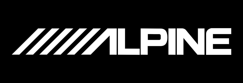 Adesivo Tuning Alpine 1 metro - Qualidade Vinil Studio