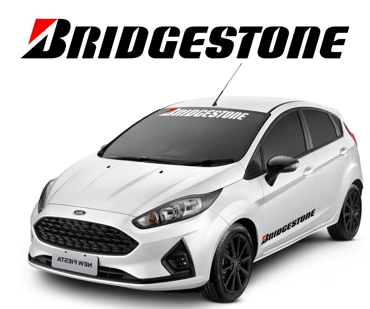 Adesivo Tuning Bridgestone 1 Metro - Recortado Alta Qualidade