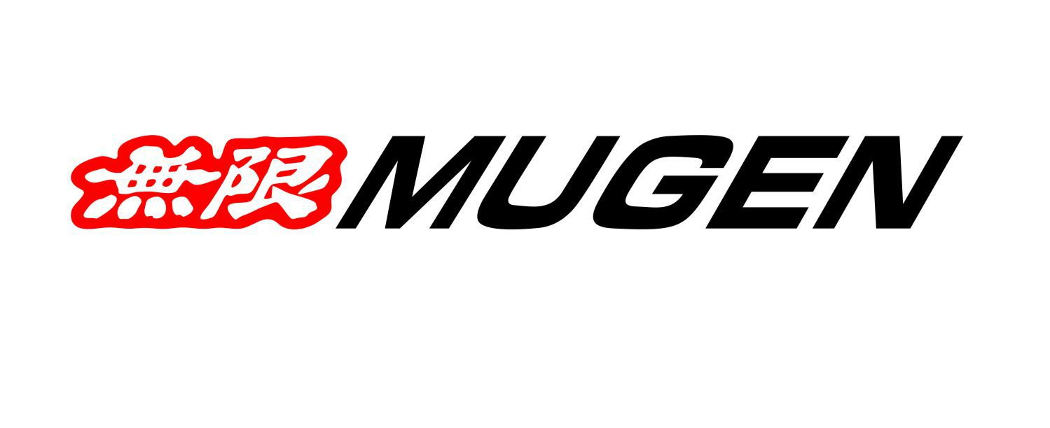 Adesivo Tuning Mugen 1 Metro - Recortado Alta Qualidade