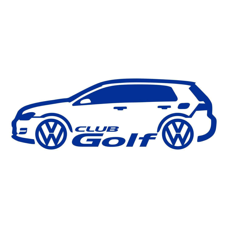 Adesivo VW Golf Club