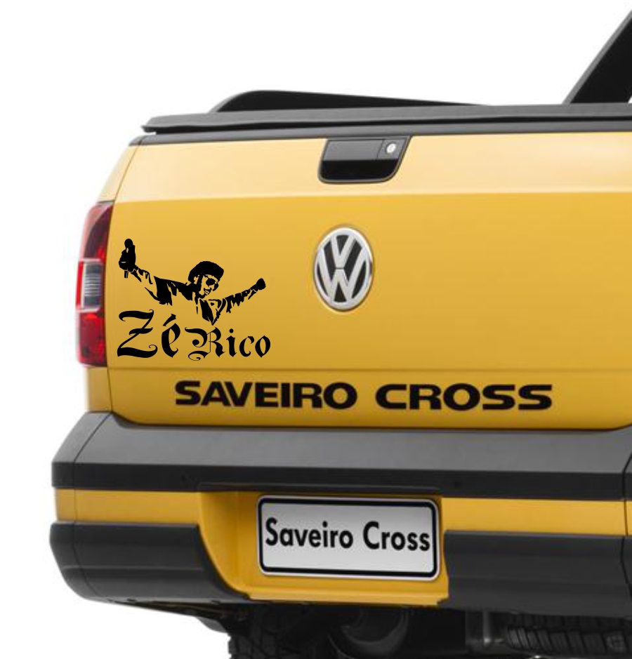 Adesivo Zé Rico - modelo 2