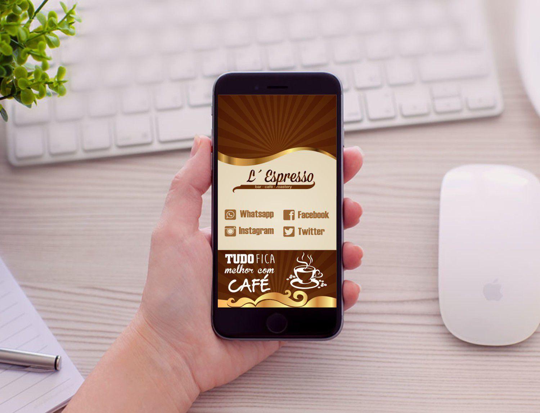 Cartão de Visita Digital Interativo