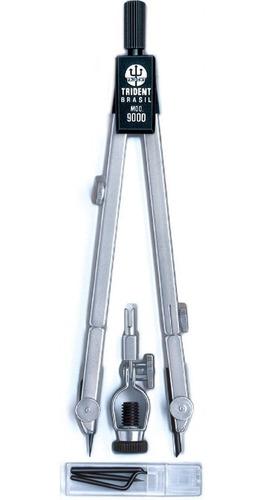 Compasso Técnico Profissional Completo Mod. 9000 - Trident