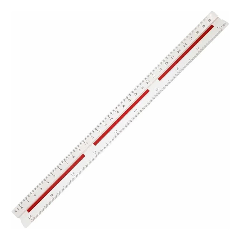 Escalimetro triagular Trident - 7830-2