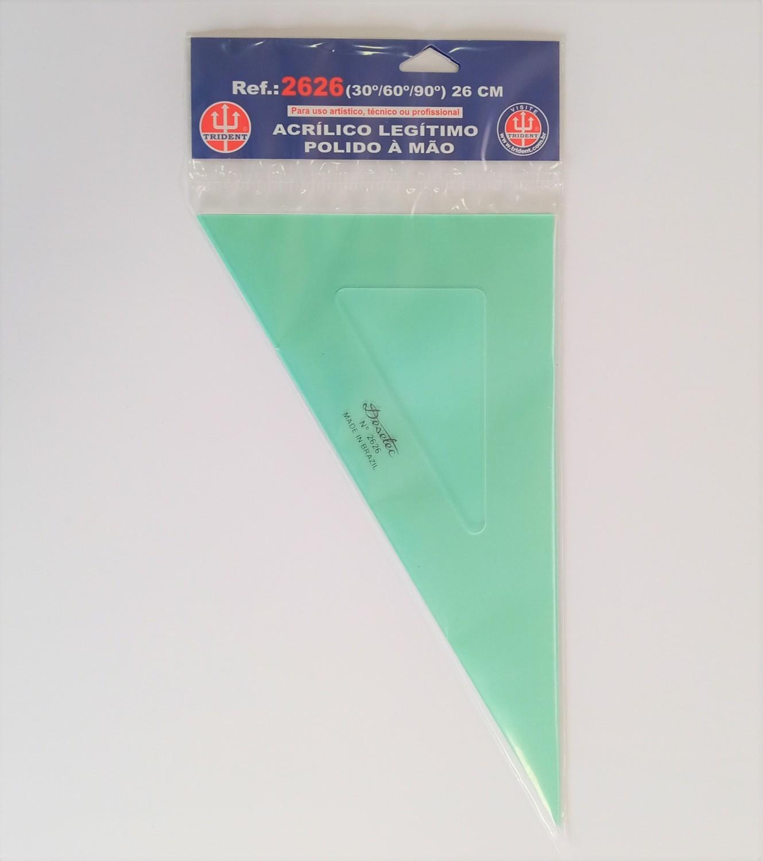 Esquadro Trident de 60º 26cm - 2626