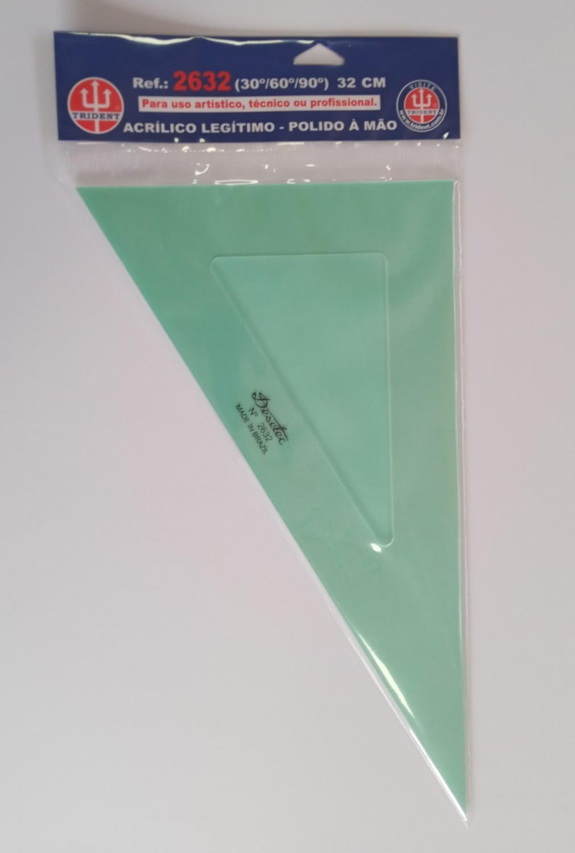 Esquadro Trident de 60º 32cm - 2632