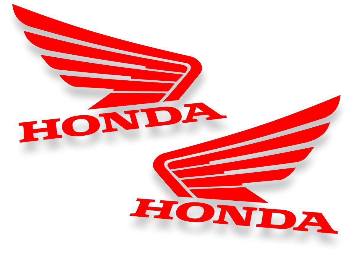 kit 2 Adesivos Honda  10x8cm