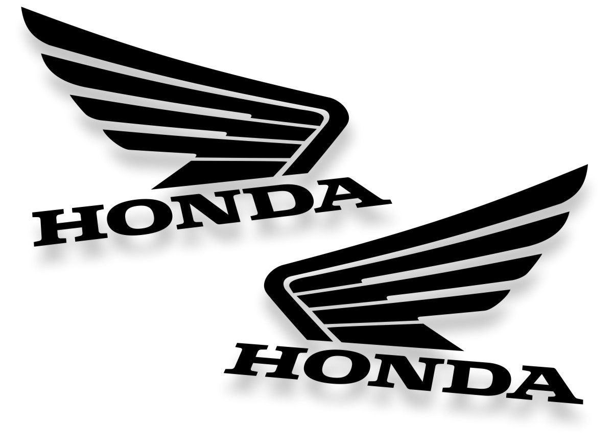 kit 2 Adesivos Honda  12x10cm