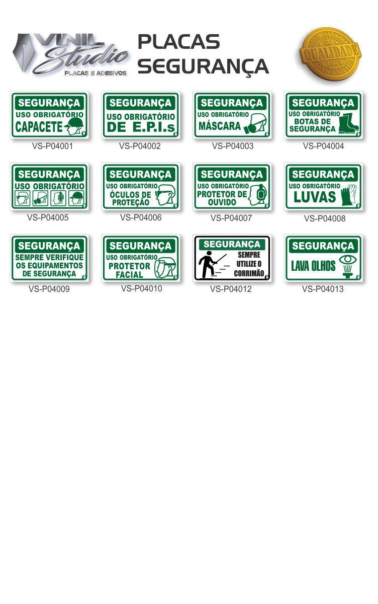 Kit 5 Placas em PVC - Vários Modelos