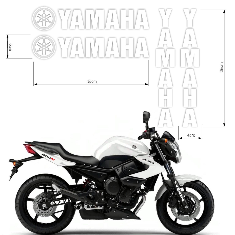 Kit Adesivos Yamaha - Bandeja + Bengala - Várias Cores