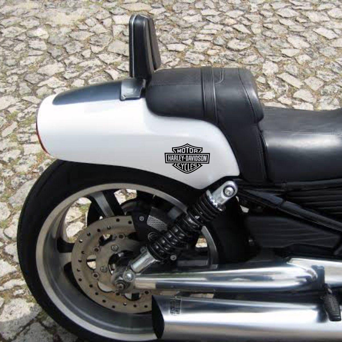 Kit com 3 Adesivos Harley Davidson - 10x7,5cm cada