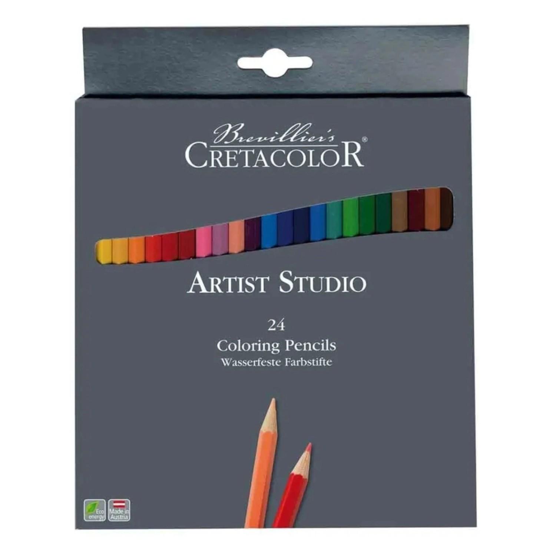 Lápis Aquarelável Profissional 24 cores - Cretacolor Artist Studio
